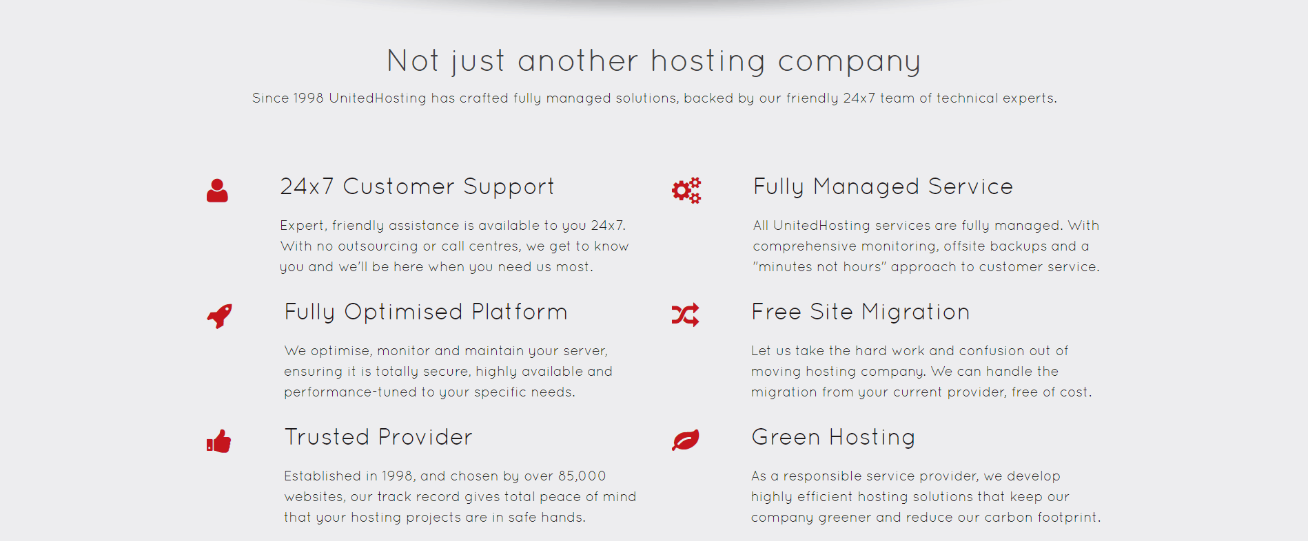 UnitedHosting-features