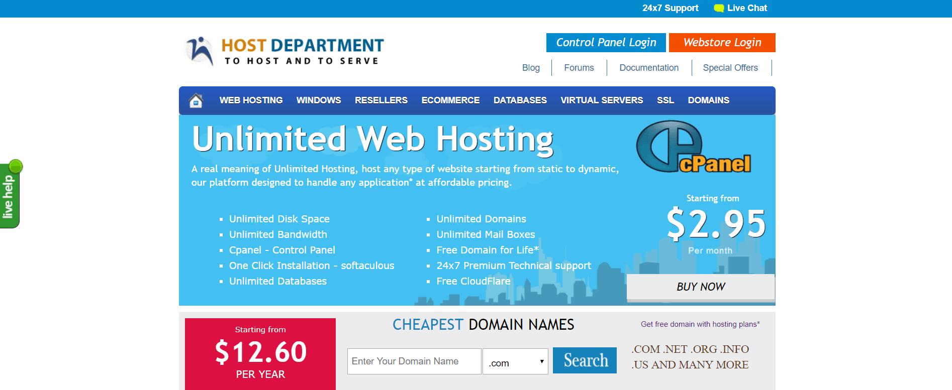 host-department-mine