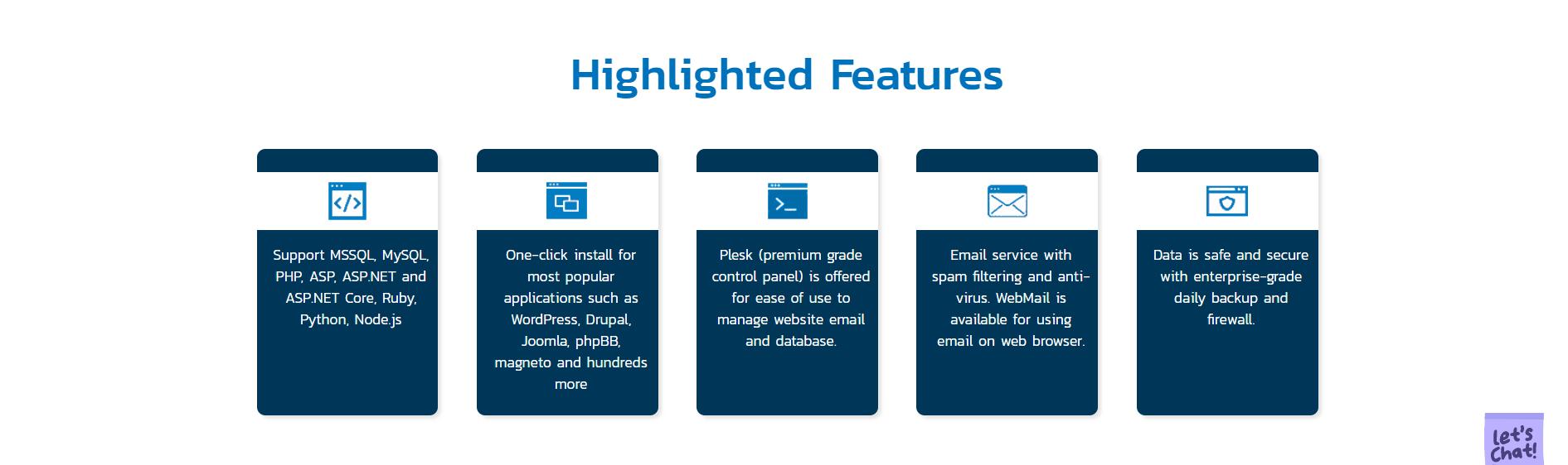 VhostWeb-features