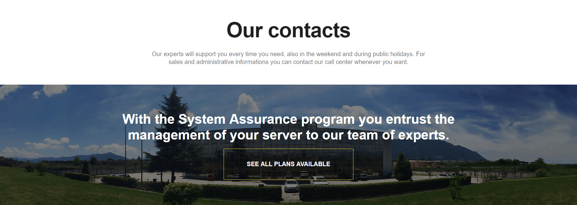 Seeweb-support