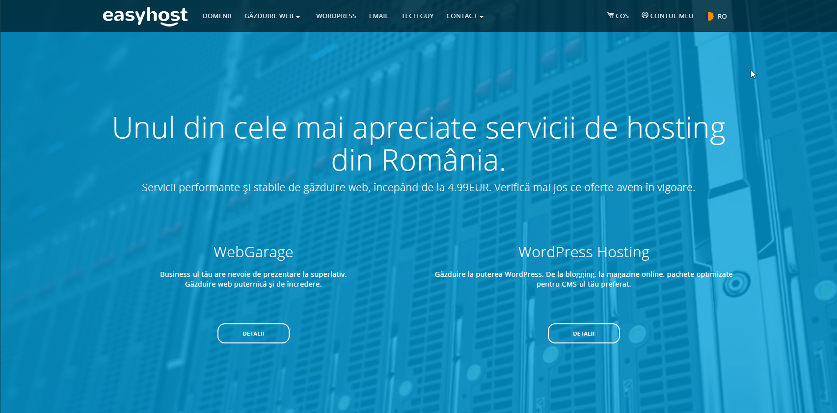 Recenzie găzduire web Easyhost