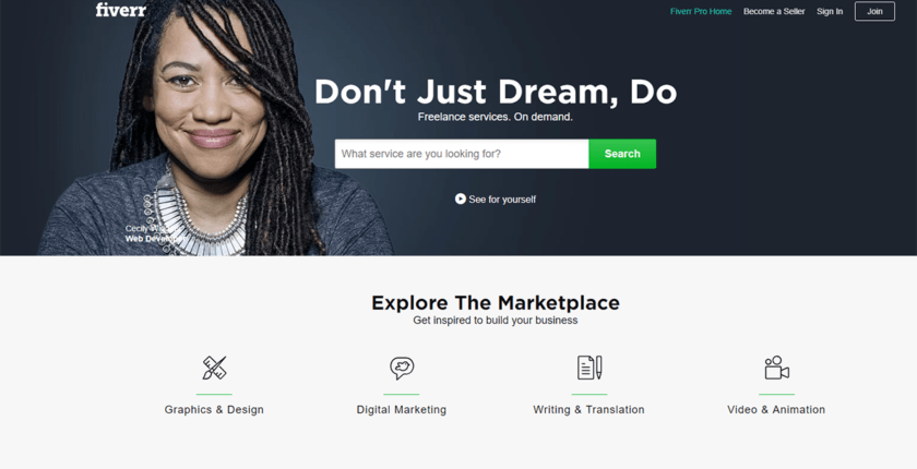Review: Working as a Freelancer on Fiverr