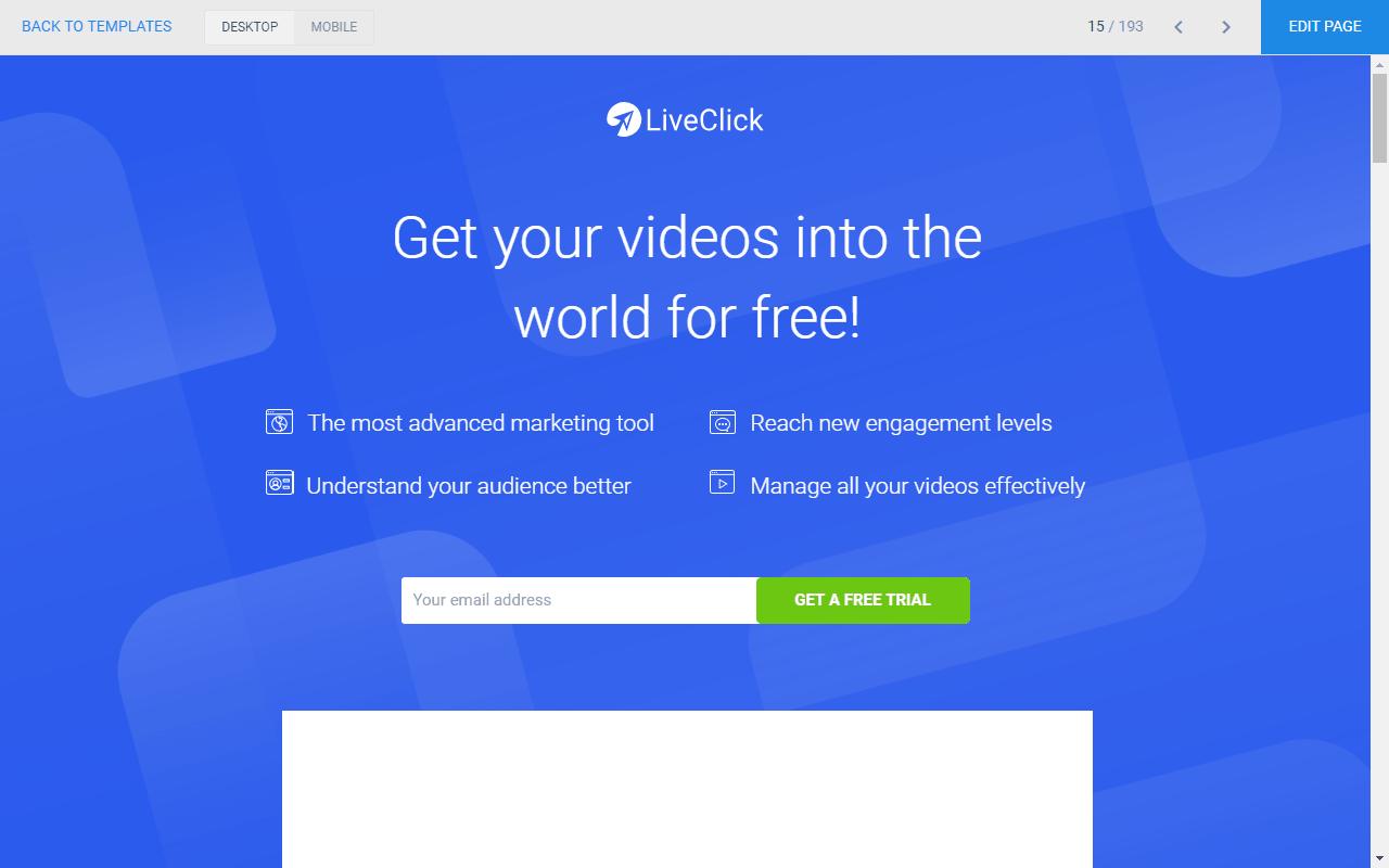 O que é uma página de captura de clientes potenciais?
