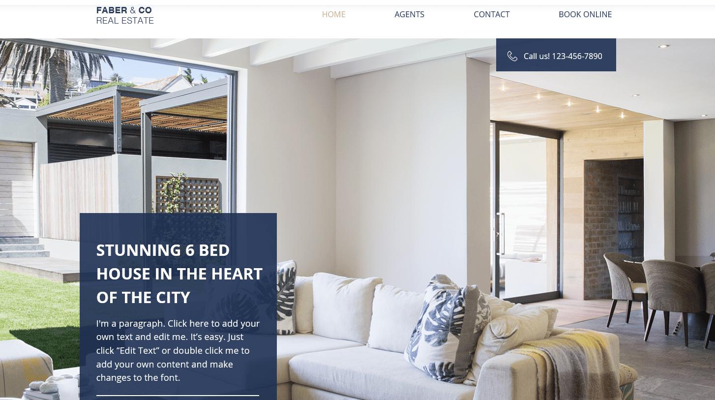 5 bedste ejendomswebsider med skabeloner til din ejendomsvirksomhed eller agentur