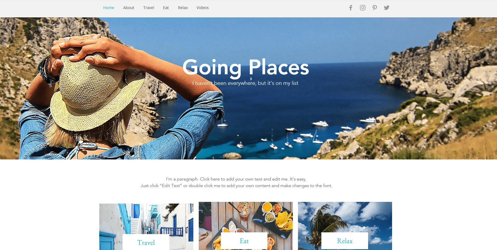 De 6 beste (helt gratis) nettstedbyggerne for ditt reisenettsted