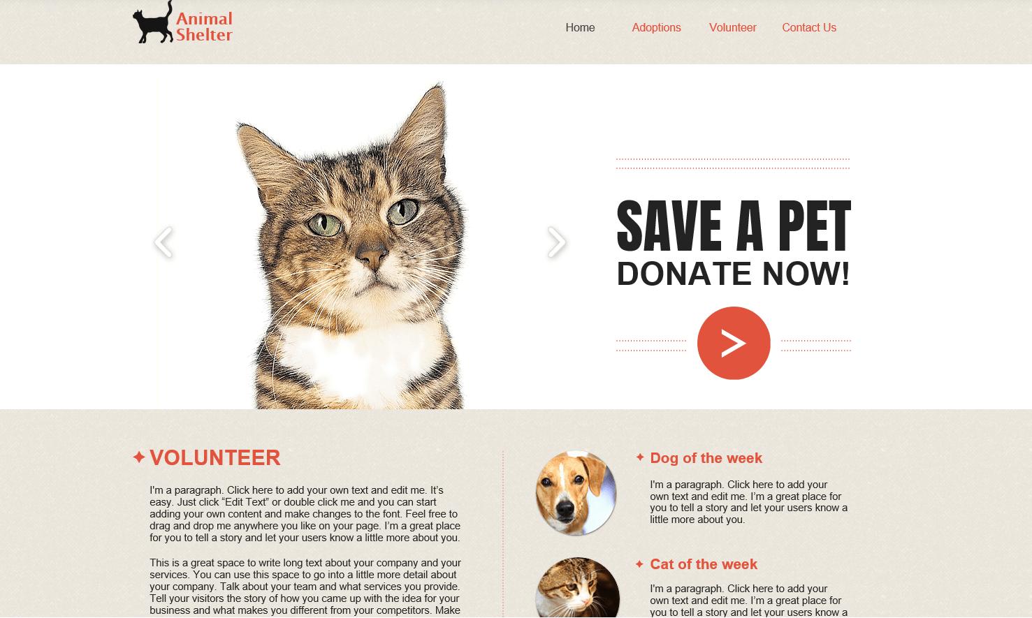 De 6 beste (gratis) nettstedbyggerne for frivillige nettsteder