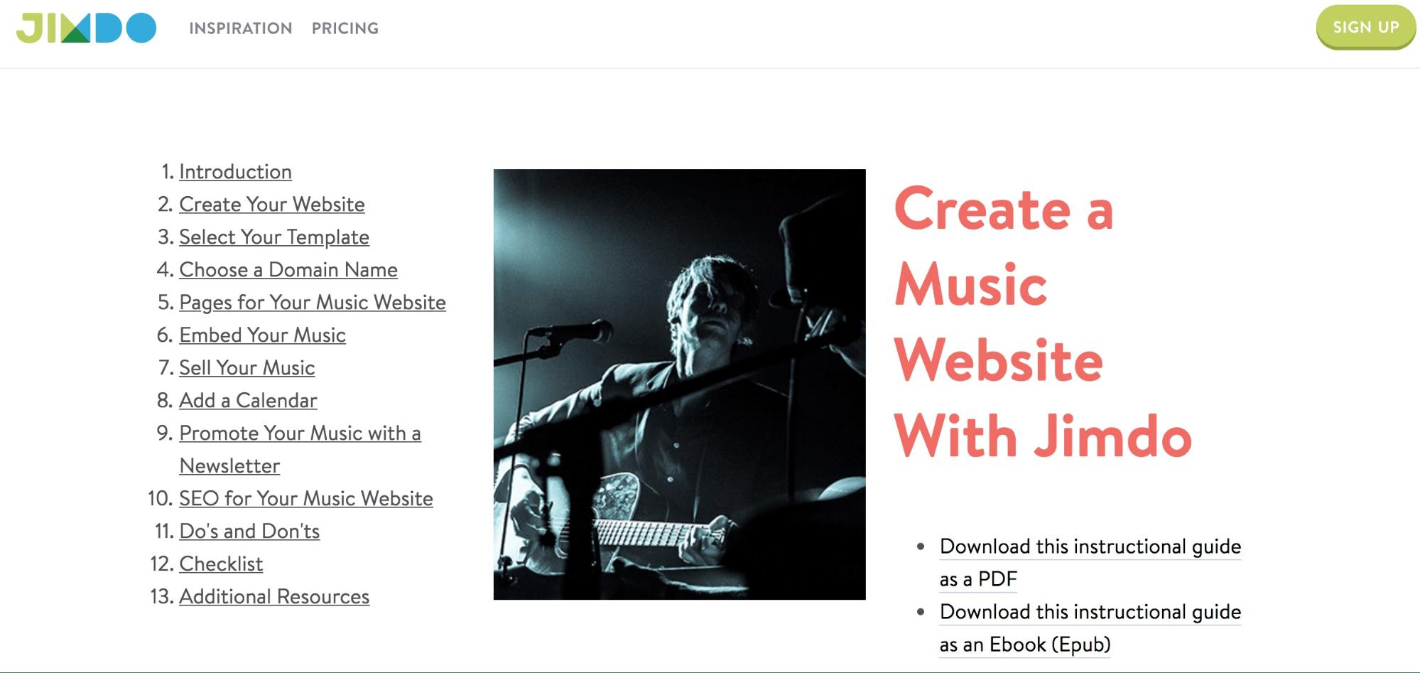 De 6 beste (helt gratis) nettstedbyggerne for å vise frem din musikk