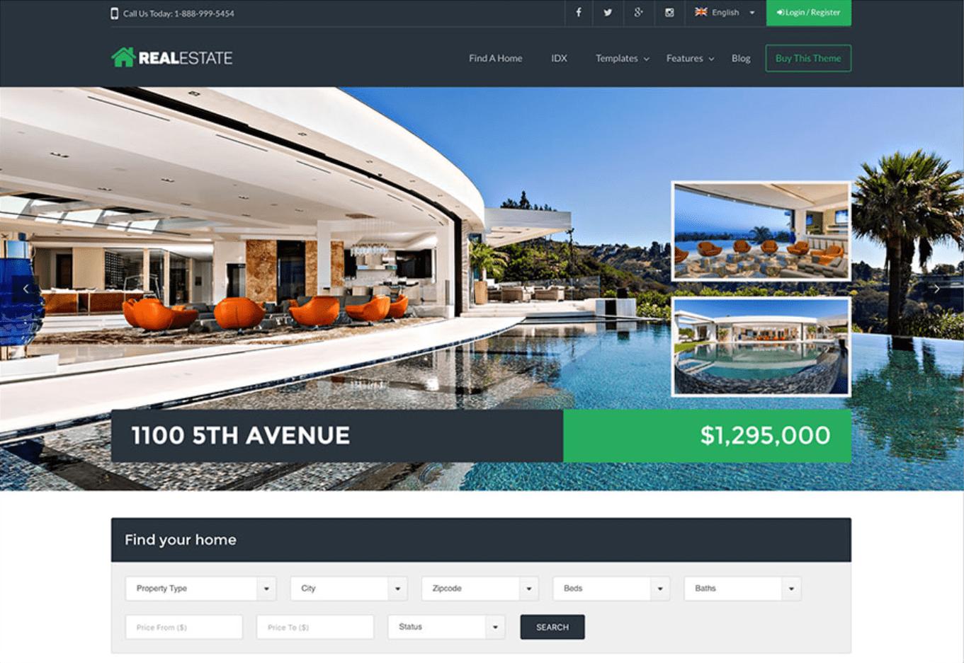 6 Builder Situs Web Real Estat (Benar-Benar Gratis) Terbaik