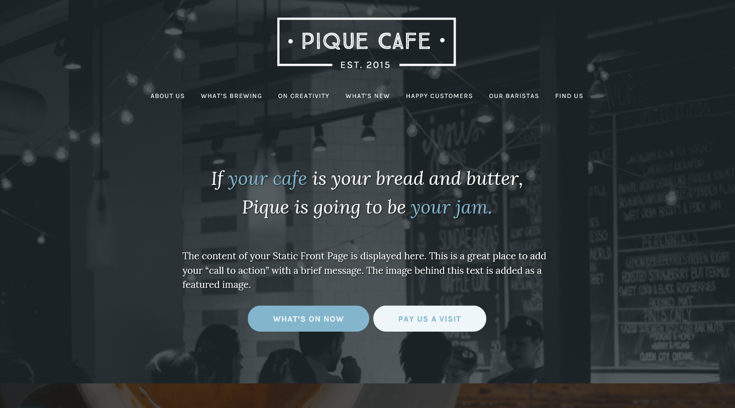 Food Truck Website – 6 Best Free Website Builders in 2020