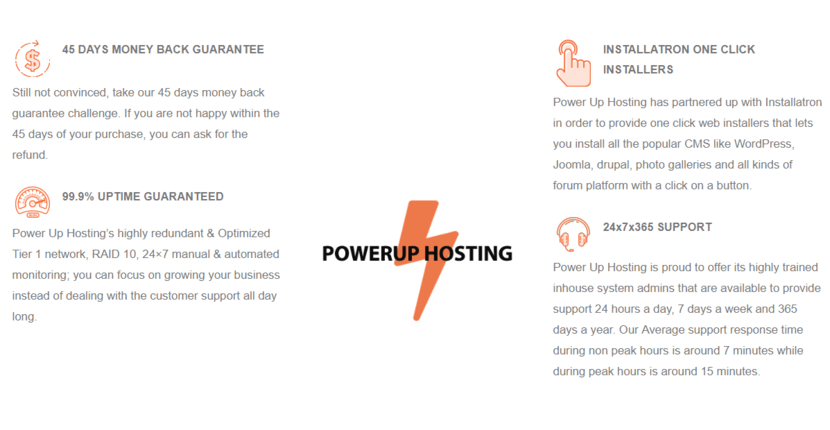 Power Up Hosting Features