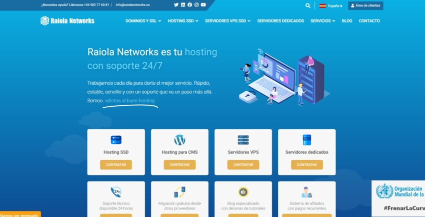 raiola networks main page
