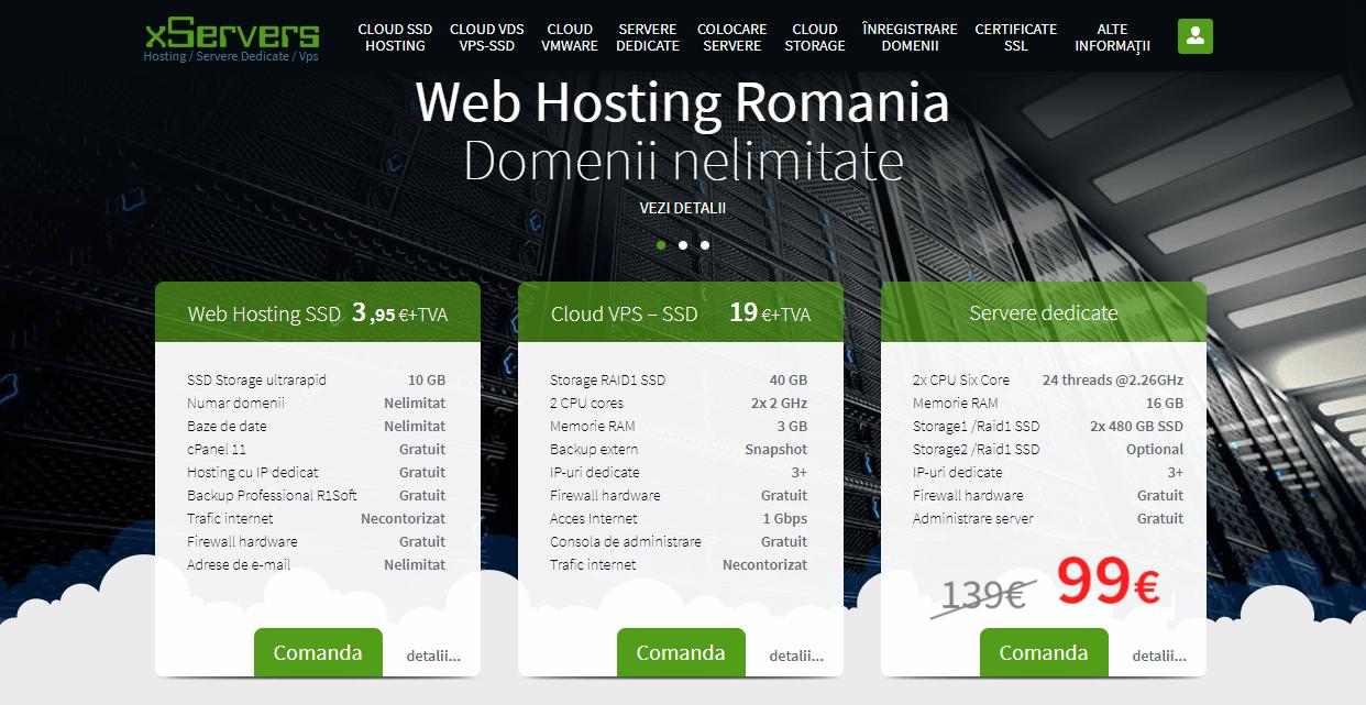 Recenzie găzduire web xServers