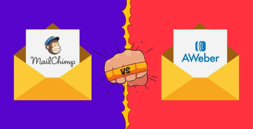 MailChimp vs. AWeber — Top Email Marketing Solutions Duel It Out
