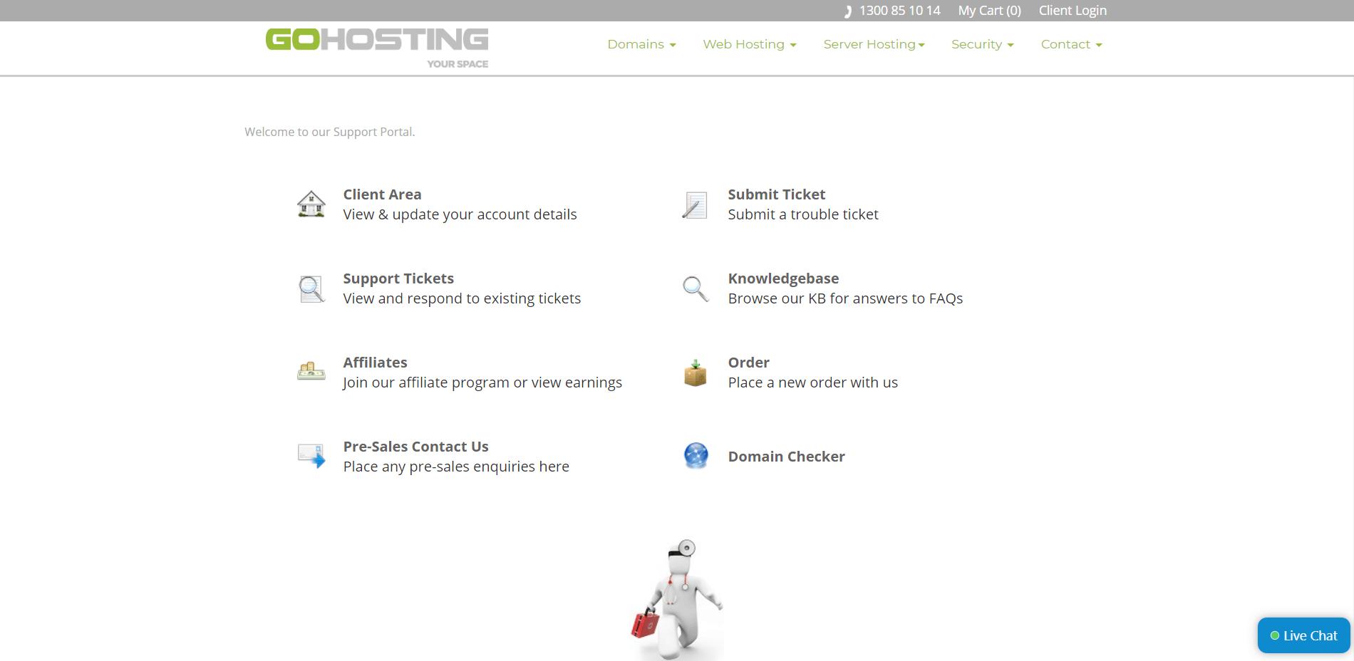 gohosting-support