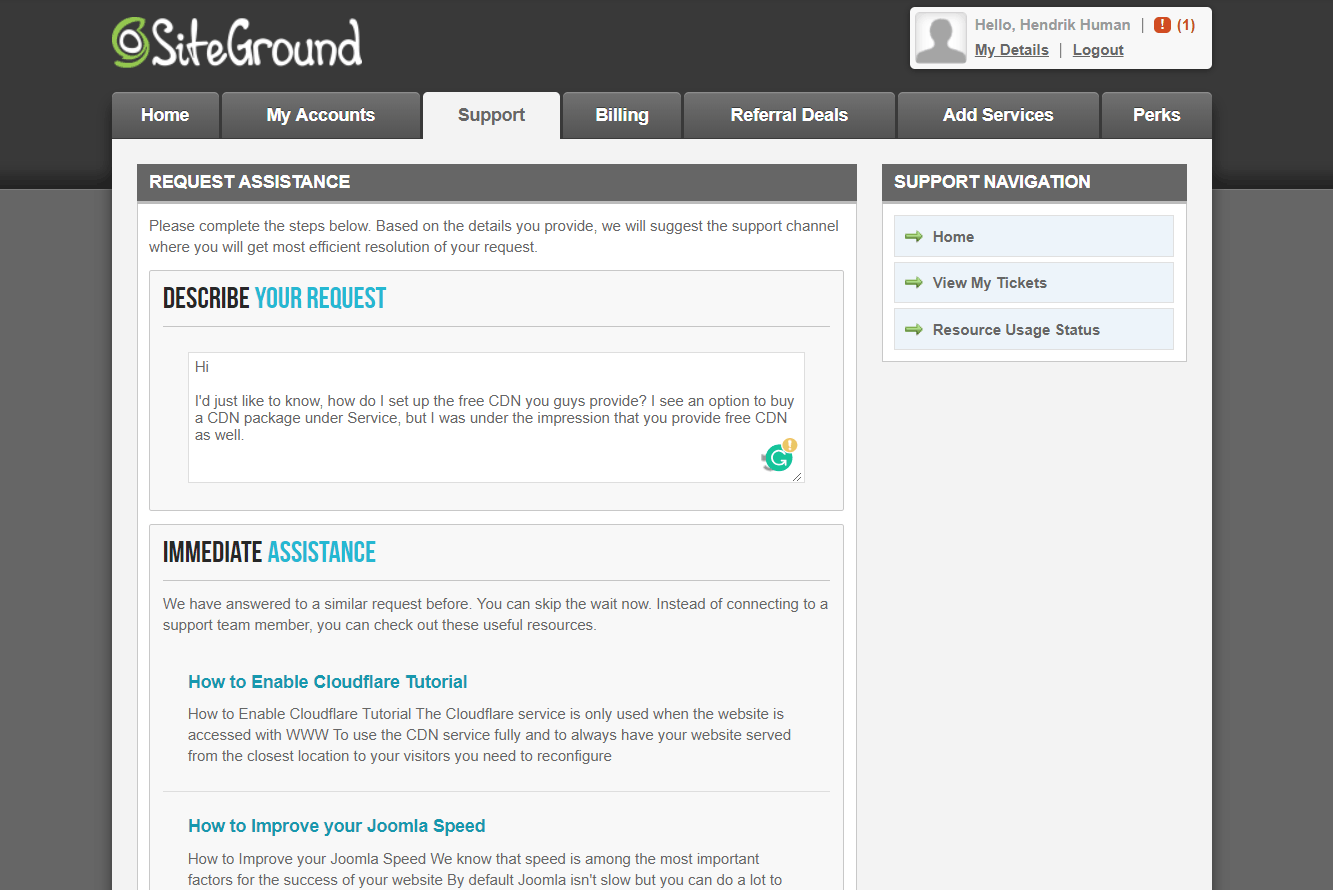 SiteGround-поддръжка5