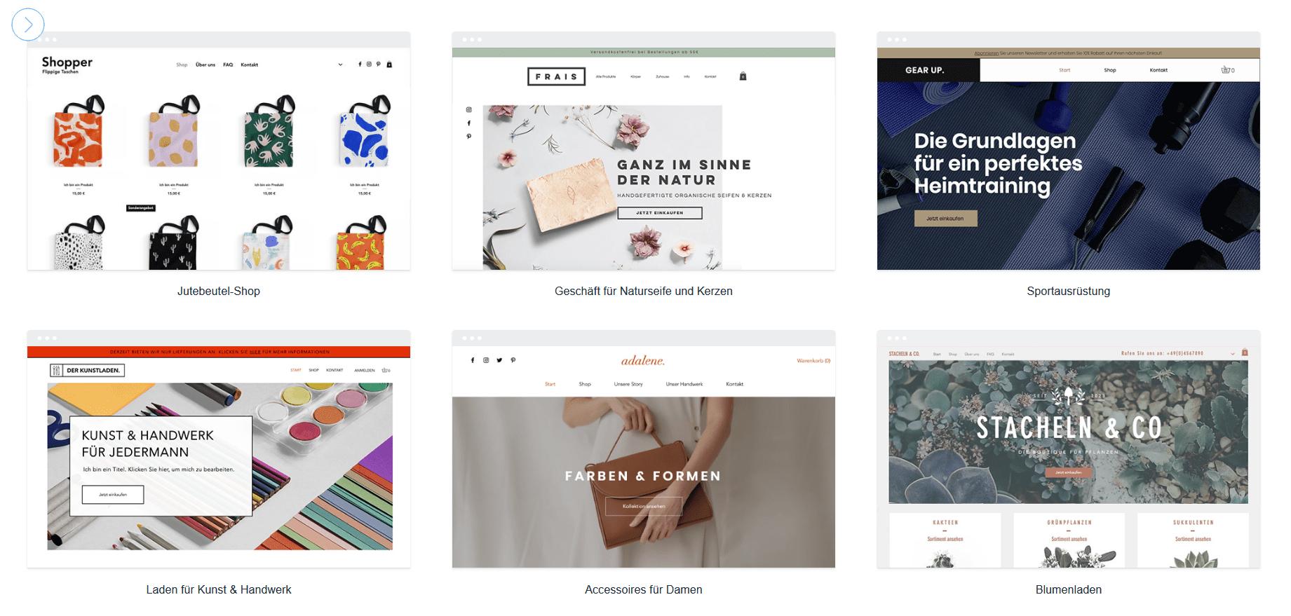Die 5 besten Website Builder für E-Commerce und Online-Shops 2020