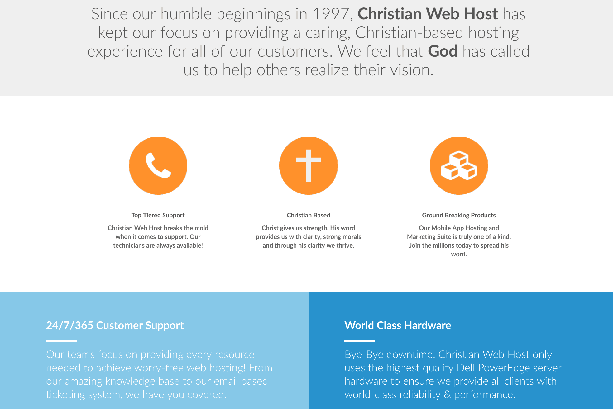 Christian Web Host