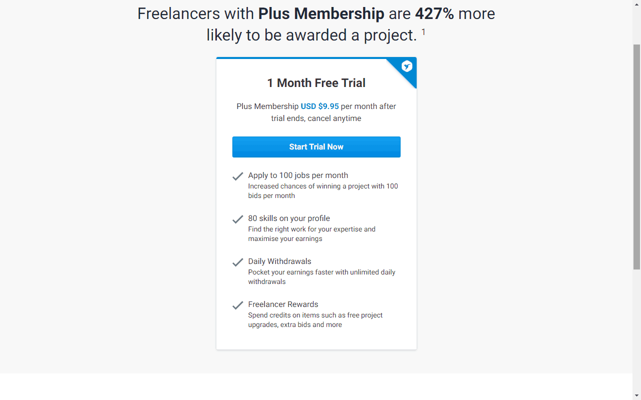 account on Freelancer.com