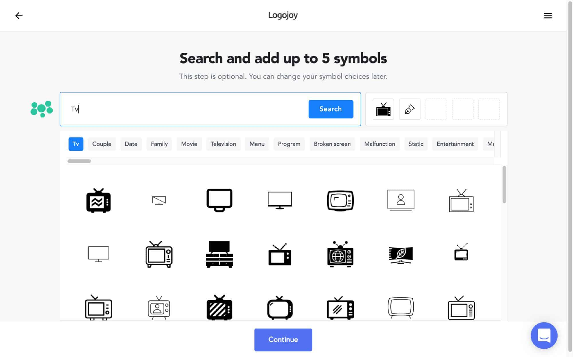 Logojoy search