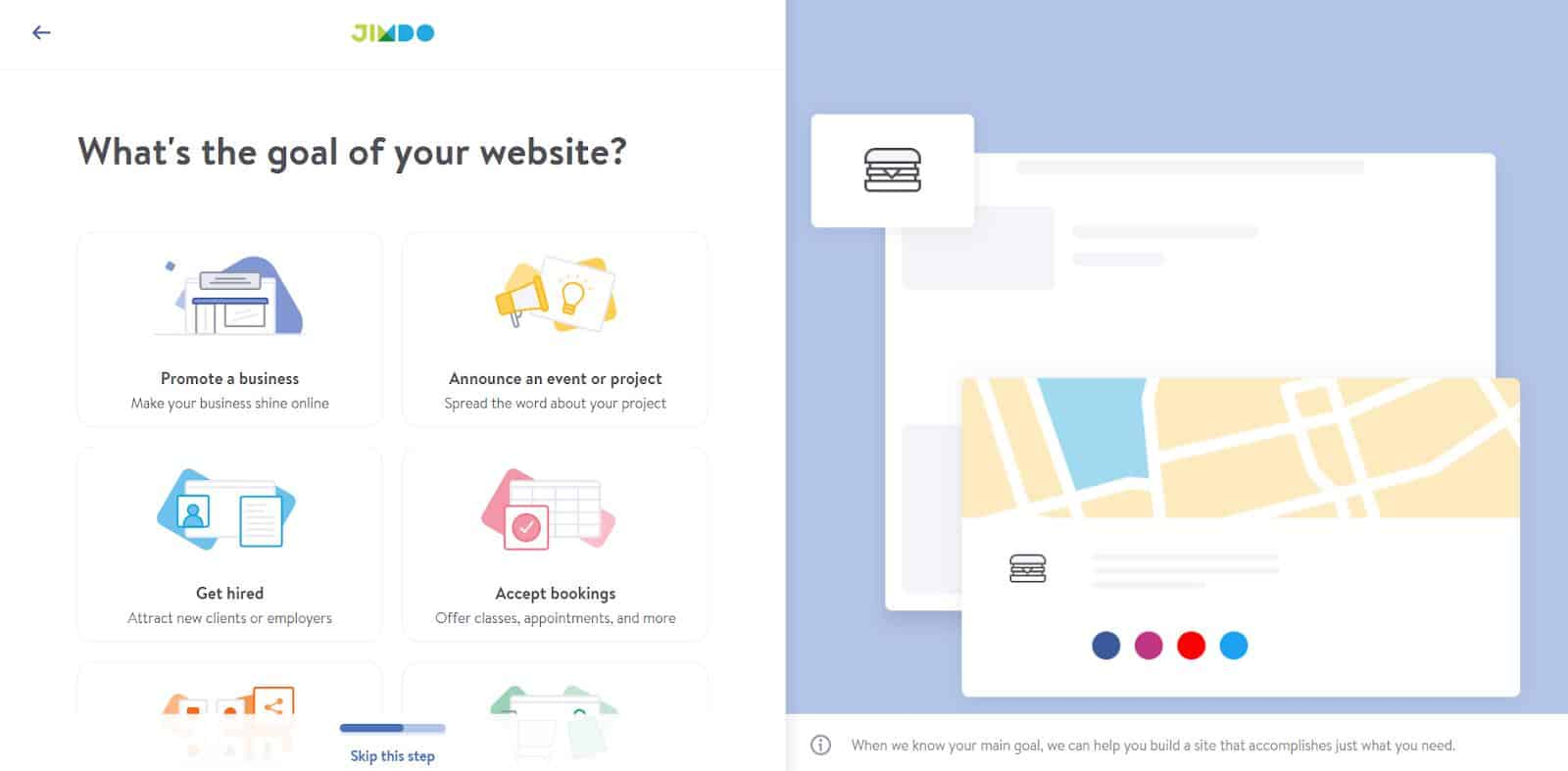 4 Things to Know Before Building Your Jimdo Website