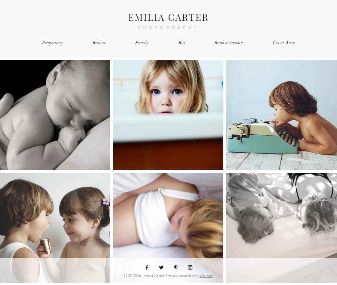 6 Best Wix Photography Website Templates (+3 Worst)-image1