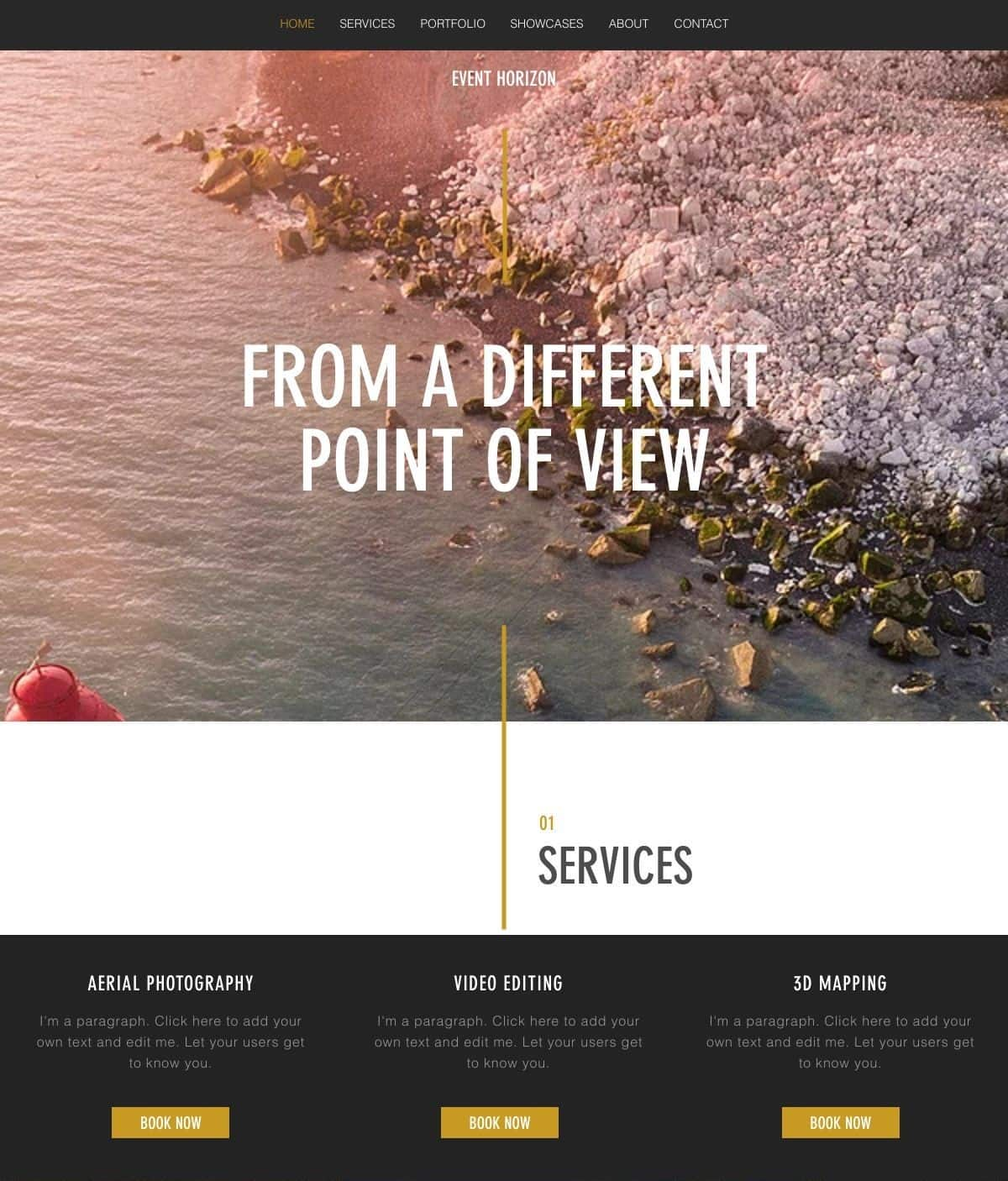 6 Best Wix Photography Website Templates (+3 Worst)-image3