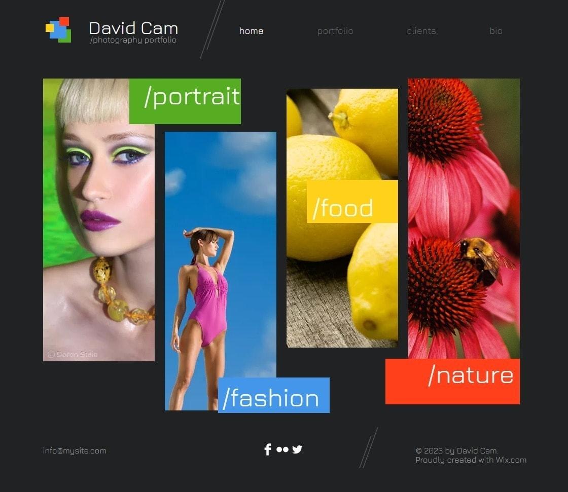6 Best Wix Photography Website Templates (+3 Worst)-image4