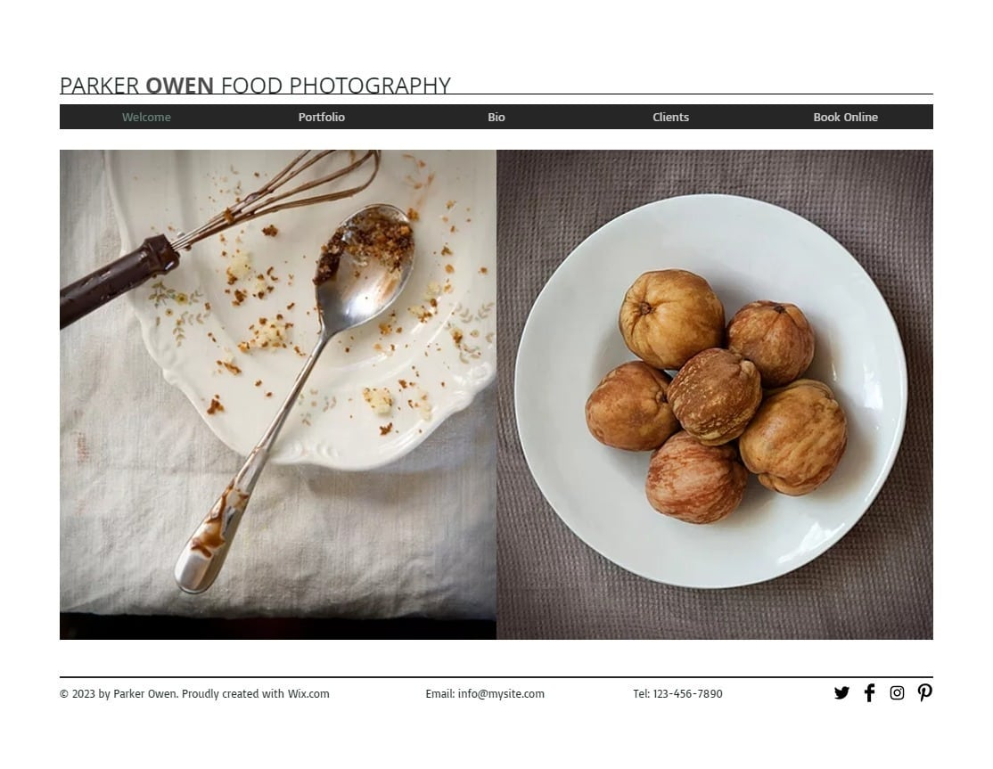 6 Best Wix Photography Website Templates (+3 Worst)-image6