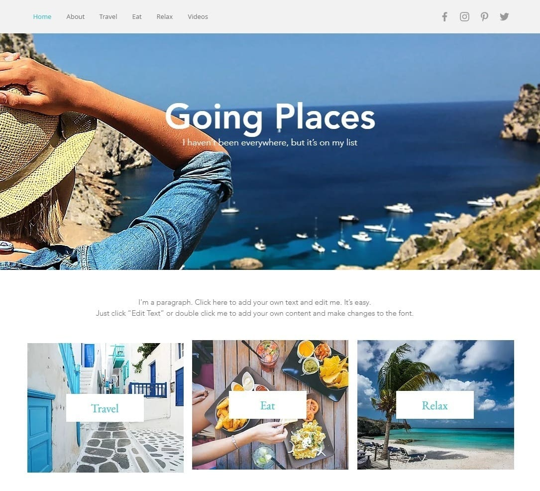 6 Best Wix Photography Website Templates (+3 Worst)-image8