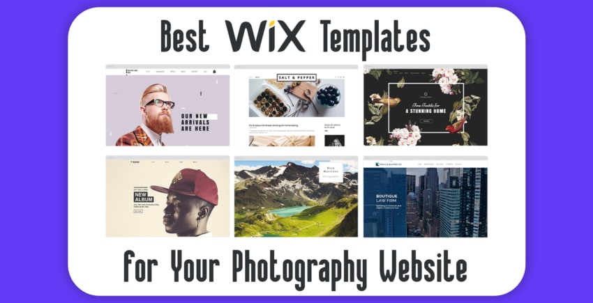 6 Absolute Best Wix Photography Website Templates (+3 Worst)