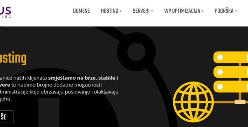 Croatian Hosting Comparison Project