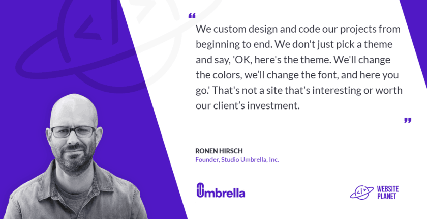 Studio Umbrella – Paying Attention to Custom Details That Make Websites Stand Out