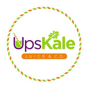 UpsKale Juice Logo - DesignCrowd