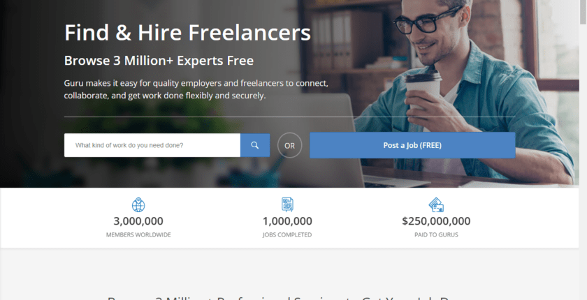 Review: Working as a Freelancer on Guru