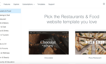 10 Best Wix Templates for Your Restaurant in 2021