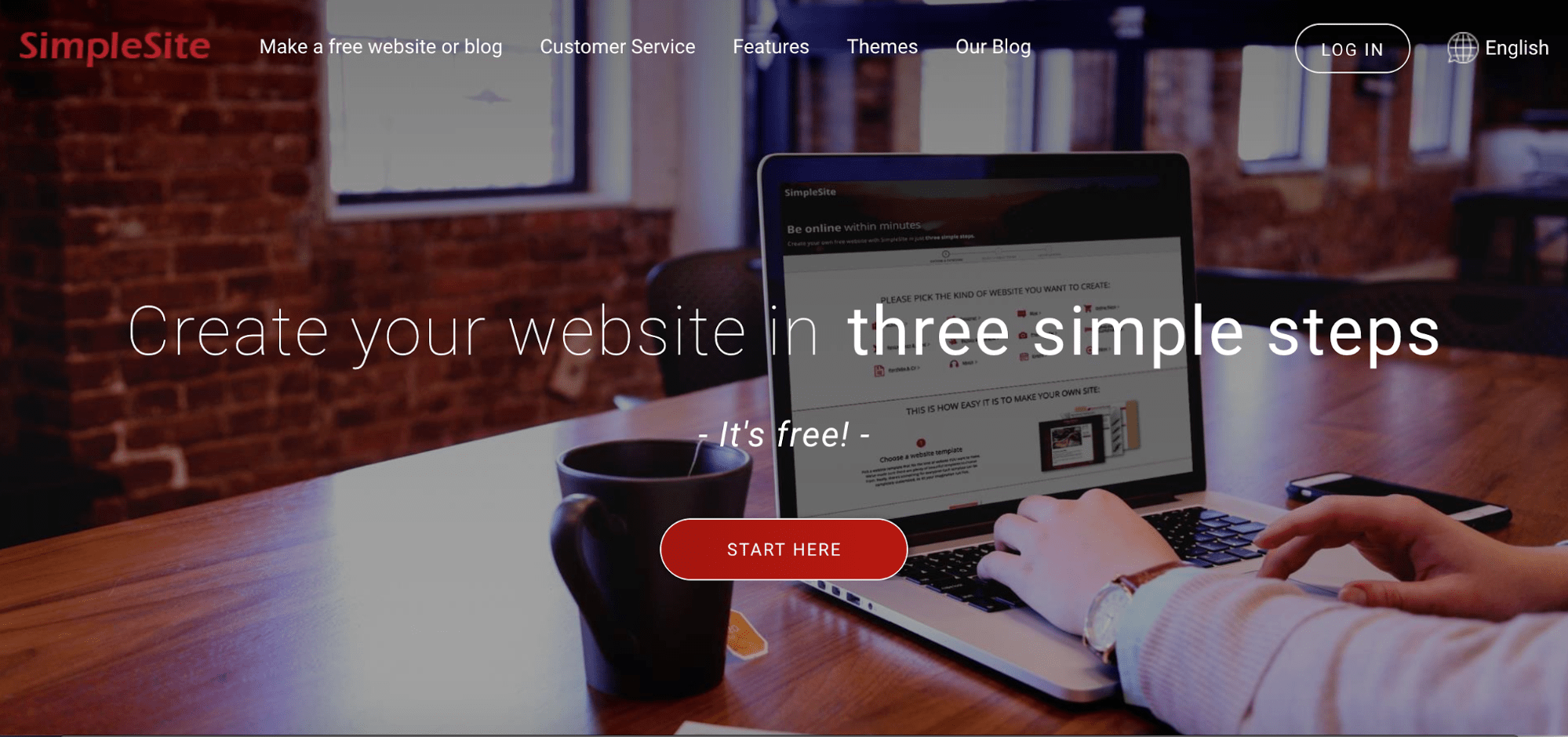 build your website free