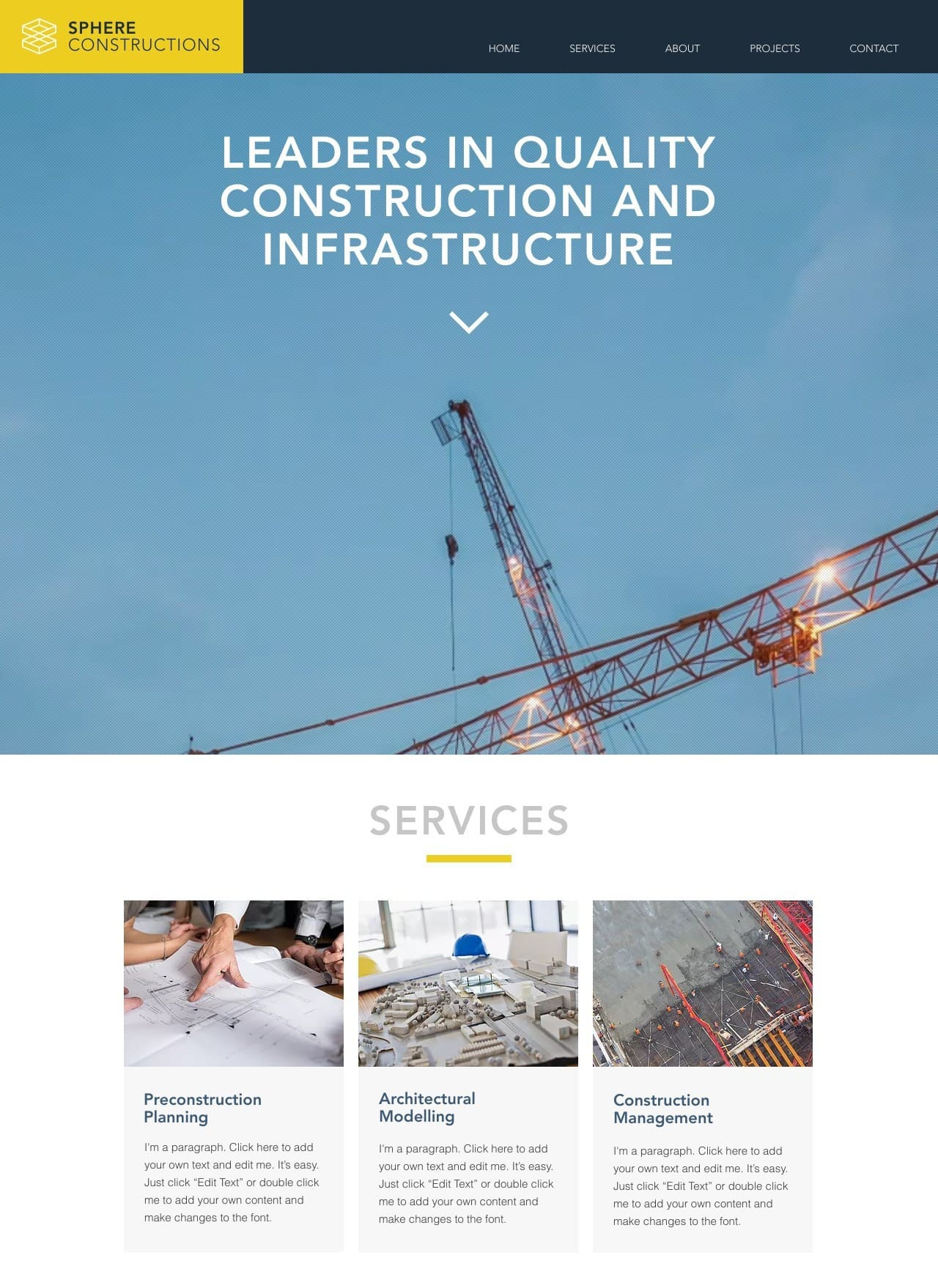 6 Best Wix Templates For Architect Websites-image2