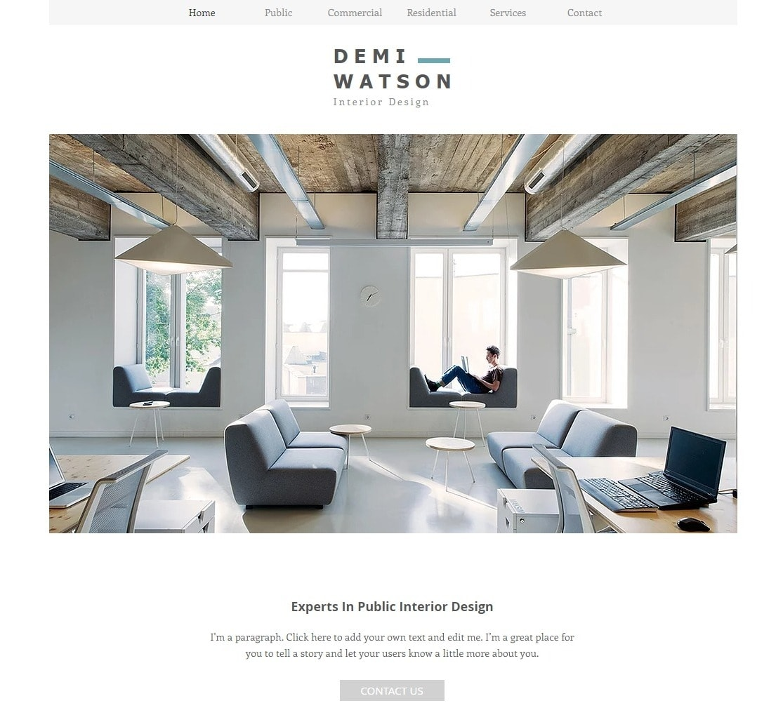 6 Best Wix Templates For Architect Websites-image4