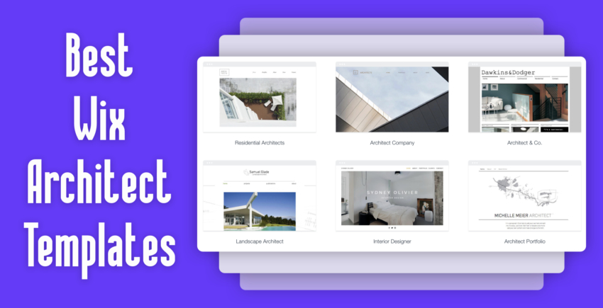 6 Best Wix Templates For Architect Websites (THAT CONVERT) 2019