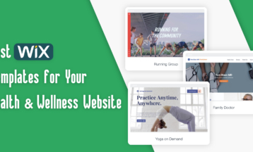 6 Best Wix Templates For Health & Wellness Blogs 2021