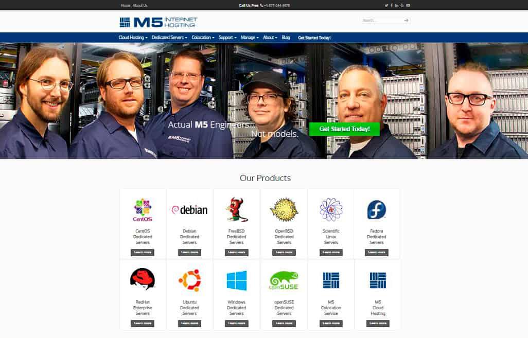 M5 Internet Hosting
