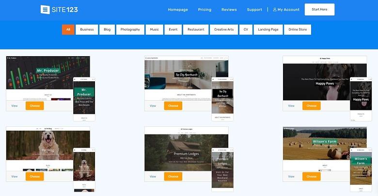 Meilleurs créateurs de site Web gratuits 2021 – Testés