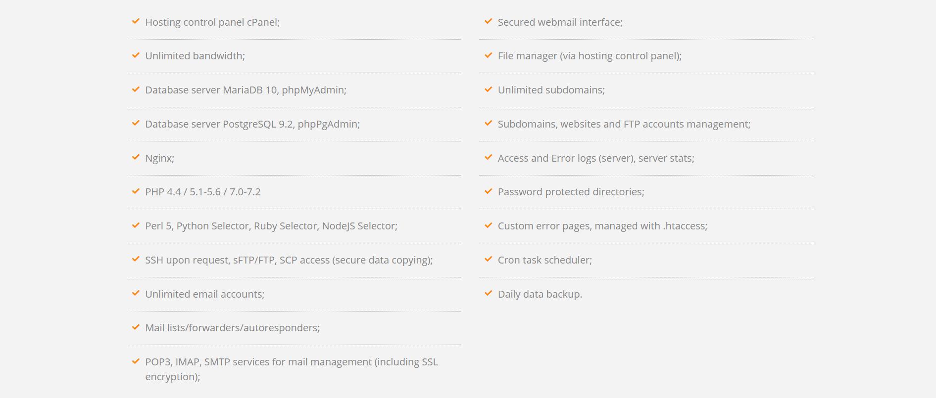 hostpro-features