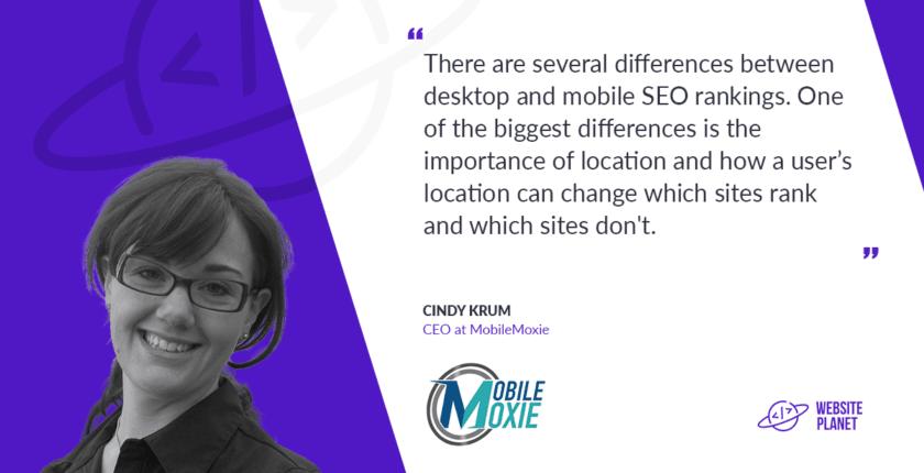 Cindy Krum CEO MobileMoxie