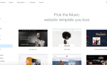 11 Best Wix Templates for Musicians and Bands Websites