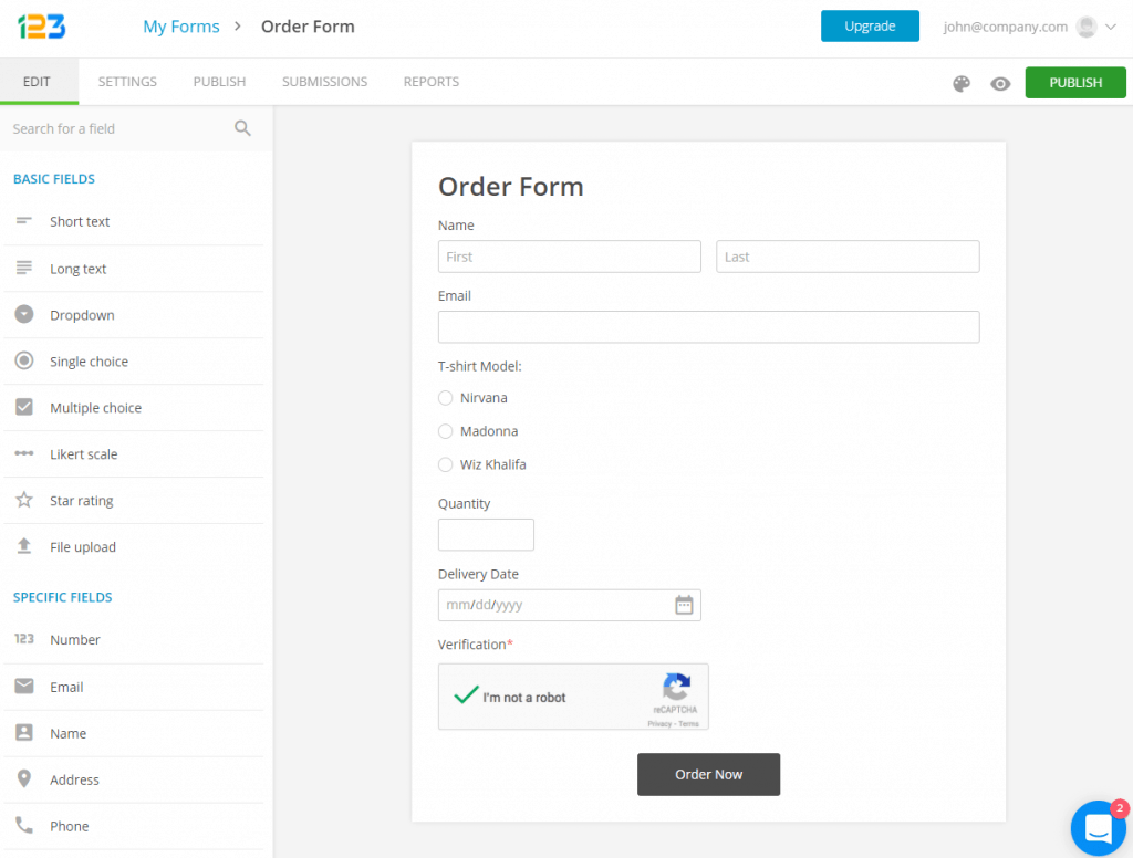 4 Best Online Form Builders for Wix [2020]