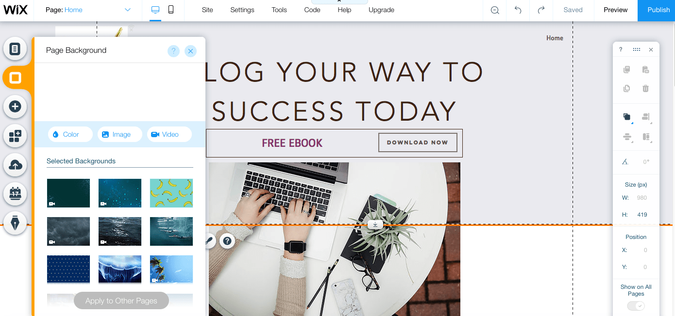 How to Create a Landing Page with Wix Website Builder