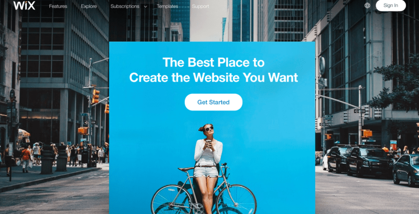 5 Absolute Best [Completely FREE] Wix Landing Page Templates
