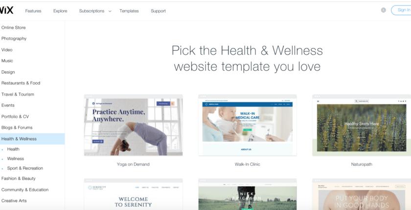 10 best wix templates for health and wellness websitesBest Landing Page Builder Unbounce Vs Instapage PsPrint Blog 347598 #7