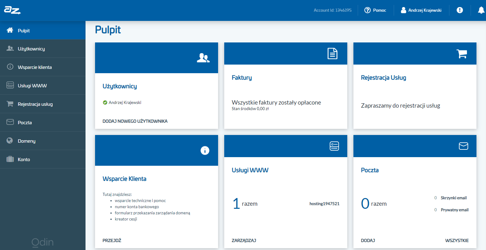 panel klienta az.pl